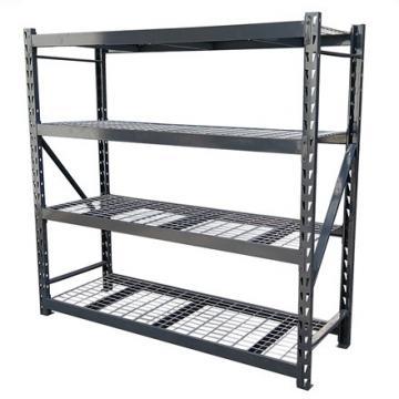 Double-Sided Steel-Wood Bookshelf for Library/Book Shelf/Office Furniture/Bookshelf