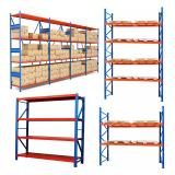 Large Warehouse Wire Shelving Trolley with Bins Unit